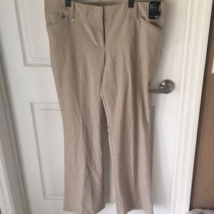 NWT New York Company mini boot cut dress pants 18